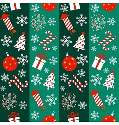New year pattern vector