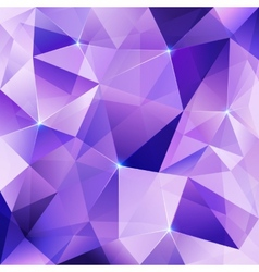 Violet crystal abstract background vector image vector image