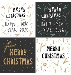 Xmas christmas greeting card vector
