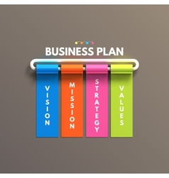 Banner business infographic template business vector