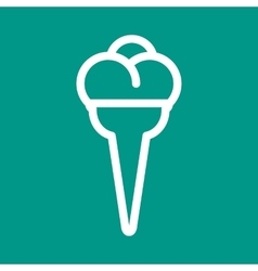 Icecream cone vector