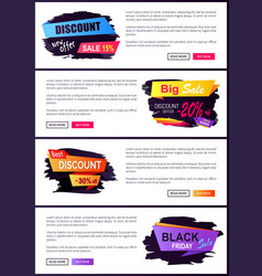 discount new offer 15 friday vector image