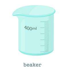 Measuring cup icon cartoon style vector