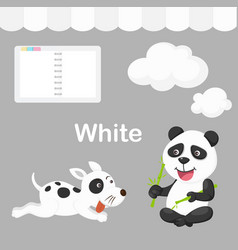 Isolated color white group vector