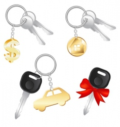 Set of keys vector