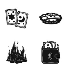 Bank win ecology and other web icon in black vector
