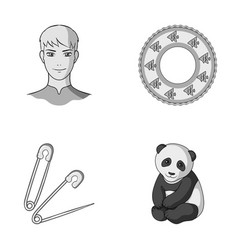 Profession atelier and other monochrome icon in vector