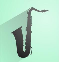 vintage music symbol vector image vector image