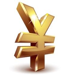 Yen symbol vector image vector image