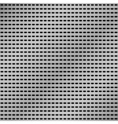 Metallic grid vector image