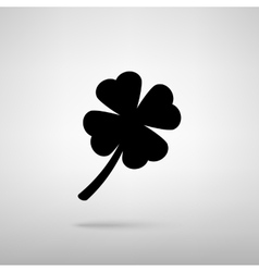 Leaf clover sign vector