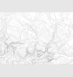 Light topographic topo contour map background vector image vector image