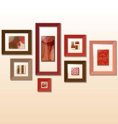 modern frames vector image vector image