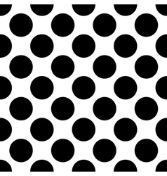 Seemless polka dot vector