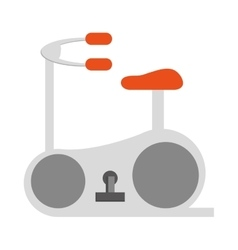 Spinning bicycle icon design vector