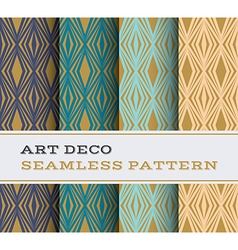 Art deco seamless pattern 16 vector