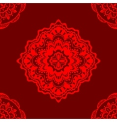 Seamless red pattern vector