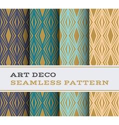 Art Deco seamless pattern 16 vector image vector image