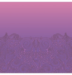 Background with lace ornament vector image vector image