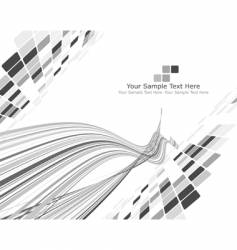 black and white checked background vector image