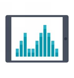 Business statistics concept vector