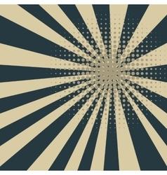 Colored retro blue halftone background vector image