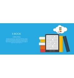 E-book flat computing vector