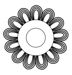 Mandala ethnic oriental circle ornament vector