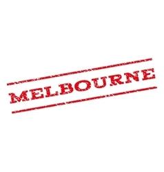 Melbourne watermark stamp vector