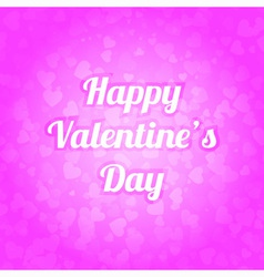 Spot of many hearts valentines day background vector