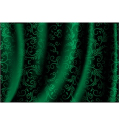 green Luxury Background vector image