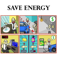 Save energy vector