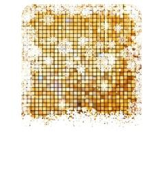 Cristmas background bright mosaic EPS 8 vector image