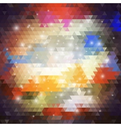 Colorful geometric background abstract triangle vector