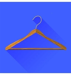 Coat hanger vector