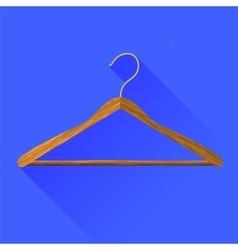 Coat hanger vector