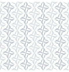 Stylized Four-Petal Flower Background vector image