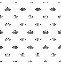 Warehouse pattern vector