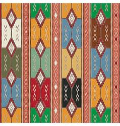 Cherokee semless texture vector image