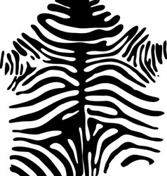 Zebra safari pattern vector