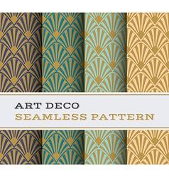 Art Deco seamless pattern 17 vector image vector image