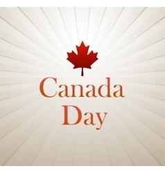 Canada Day vector image vector image
