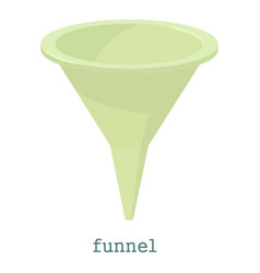 Funnel icon cartoon style vector