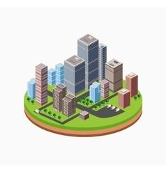Skyscrapers urban vector