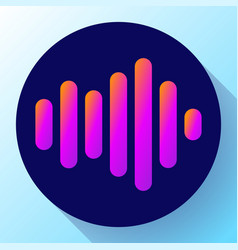 sound waves icon sound icon  sound vector image