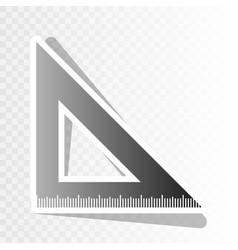 ruler sign   new year blackish vector image