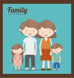Family design vector