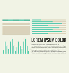 Background graphic data business infographic vector