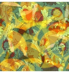 Light colorful seamless pattern vector image vector image