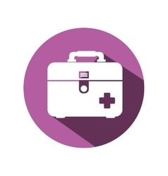 medical kit isolated icon vector image vector image